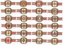 Vitolas taf escudos nacionales