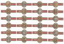 Vitolas romano monedas romanas