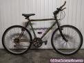 Bici 21v, aluminio y amortiguador