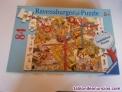 Puzzle ravensburger 84 piezas sobre la construcción