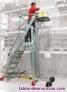 Escalera de aluminio y plano de carga de elevación eléctrica (pick)