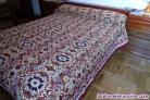 Colcha manta antigua de lana