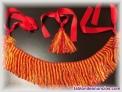 Vendo flecos bicolor rojo/naranja para gaita