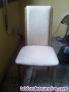 3 sillas tapizadas en skay