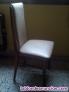 Fotos del anuncio: 3 sillas tapizadas en skay