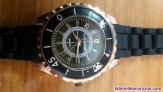 Reloj c oro negro