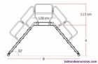 Fotos del anuncio: Escalera de puente en aluminio con inclinación 45º/50º/60º