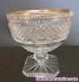 Copa de cristal tallado