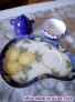 Servicio de café, té, pastas o aperitivos