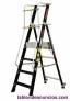 Fotos del anuncio: Escalera fibra con plataforma y guardacuerpo