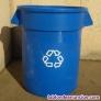 Cubos reciclaje sin tapa