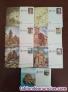 Vendo tarjetas postales y aerogramas