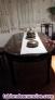 Fotos del anuncio: Venta comedor madera palo santo con inscrustaciones  de nacar