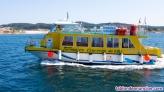 Catamaran ulla para 102 pax de pasaje y turismo
