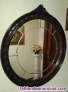 Mueble entrada clásico con espejo