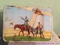Fotos del anuncio: Caja membrillo con imagen de Don Quijote y Sancho Panza