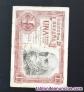 Billete de 1 peseta de 1953 sin letra