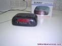 Fotos del anuncio: Aparato radio marca Zuñí color negro, funciona con luz y con pilas, de 18 cms. D