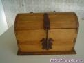 Fotos del anuncio: Baúl  de maderas tropicales tipo antiguo para decoración.- fondo 20 CMS. Ancho 3