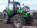 Tractor semi standar new holland l 95 dt con pala.