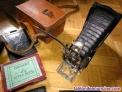Fotos del anuncio: Antigua camara fotográfica de fuelle goerz tenax berlin para placas de cristal d