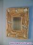 Espejos rústicos de madera artesanal