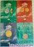 Catálogos numismáticos de subastas Jesús Vico 2000-2001, tapas duras