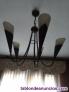 Fotos del anuncio: Se vende lámpara de salón de bronce de cinco brazoss