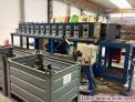 Perfiladora 12 estaciones  tratamiento de chapas, tubos, barras o perfiles metal