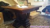 Mesa comedor antigua