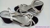 Fotos del anuncio: Zapato tacón  verano mujer de piel