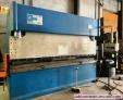 Plegadora hidraulica jordi 3.000 x 125 tm