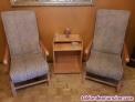 Fotos del anuncio: Vendo 2 butacas balancin y mesa auxiliar