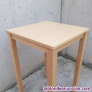 Fotos del anuncio: Mesa de madera de haya 70x70x110cm