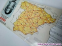 Fotos del anuncio: Mapa de las principales carreteras de españa distancia entre capitales años 70 u