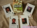 Juego de naipes iraq most wanted