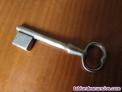 Antigua llave ciega en bruto sin tallar - vintage blank key