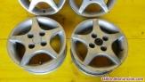 Fotos del anuncio: Juego de llantas aluminio  nissan micra (k10) gl