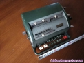 Calculadora facit ntk de los años 50 esta bloqueada mechanical calculator rechen