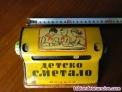 Fotos del anuncio: Antigua calculadora bulgara juguete infantil de hojalata de los años 50 tablas d