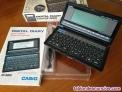 Casio digital diary sf-8000 64kb con caja, instrucciones y cable accesorio sf800