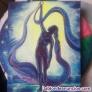 Vendo lienzo original basado en la postura de yoga