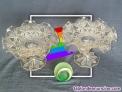 Fotos del anuncio: Pareja de centros de mesa fruteros de cristal