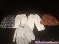 Lote camisas y pantalones niño 9-12 meses