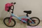 Bicicleta de niña como nueva