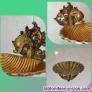 Fotos del anuncio: Singular jabonera de bronce rosa tallada a mano