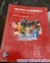 POLITICA ECONOMICA . Elaboracion, objetivos e instrumentos