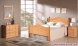 Fotos del anuncio: Dormitorio macizo con cama de matrimonio nuevo de fabrica