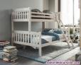 Fotos del anuncio: Litera maciza con cama de matrimonio nueva de fabrica