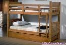 Fotos del anuncio: Litera maciza de 3 camas nueva de fabrica